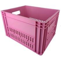 KERRI krat L Baby roze, 43x35x27 cm