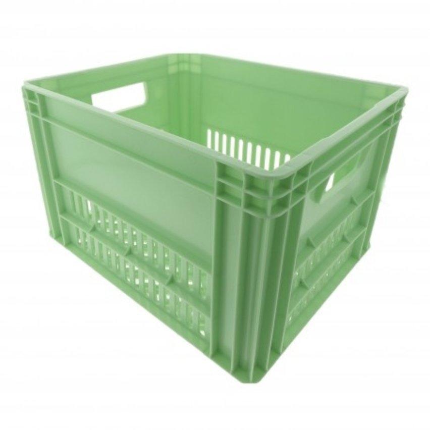 KERRI krat L Mint groen, 43x35x27 cm