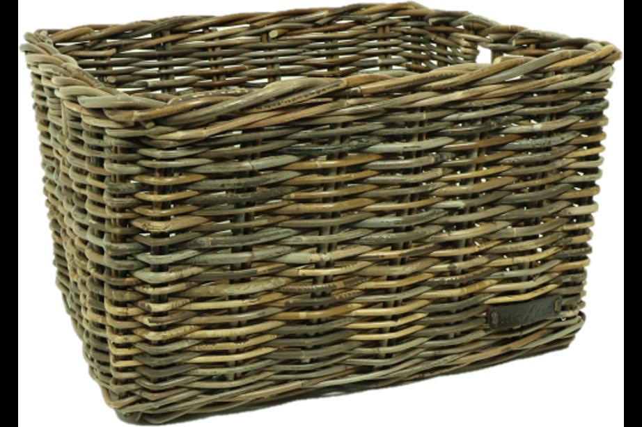 WICKED kratmand Zwart, L (50x40x30)