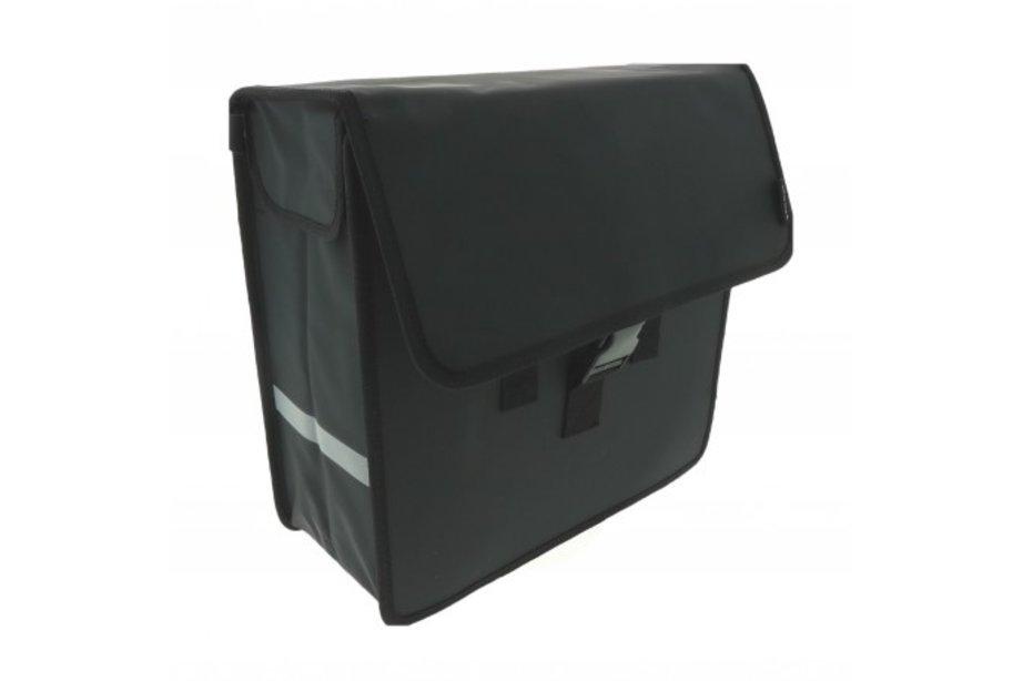 BECK Shopper mat-zwart