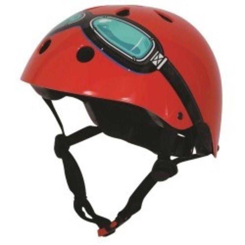 KIDDIMOTO helm Red Goggle , small
