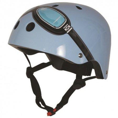 KIDDIMOTO helm Blue Goggle , medium