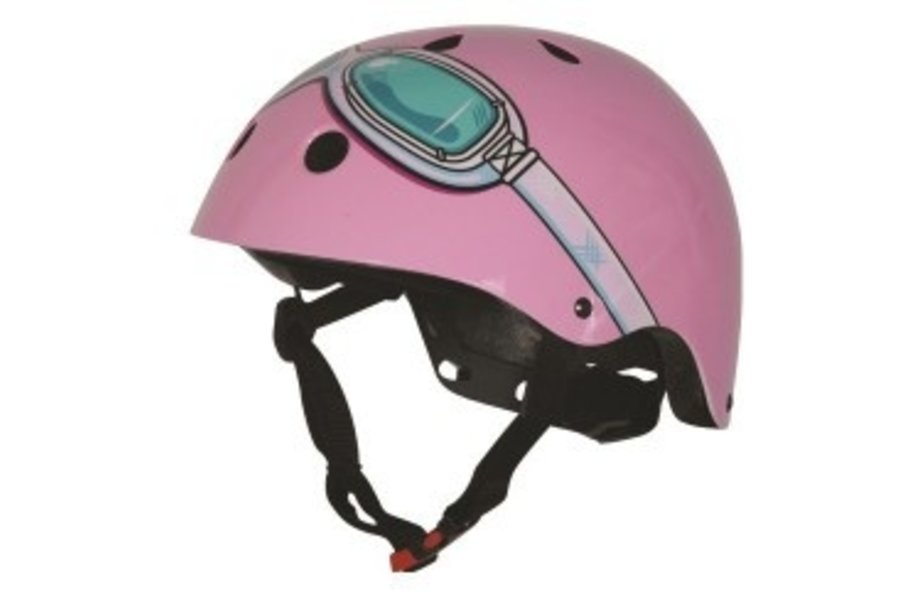KIDDIMOTO helm Pink Goggle , small