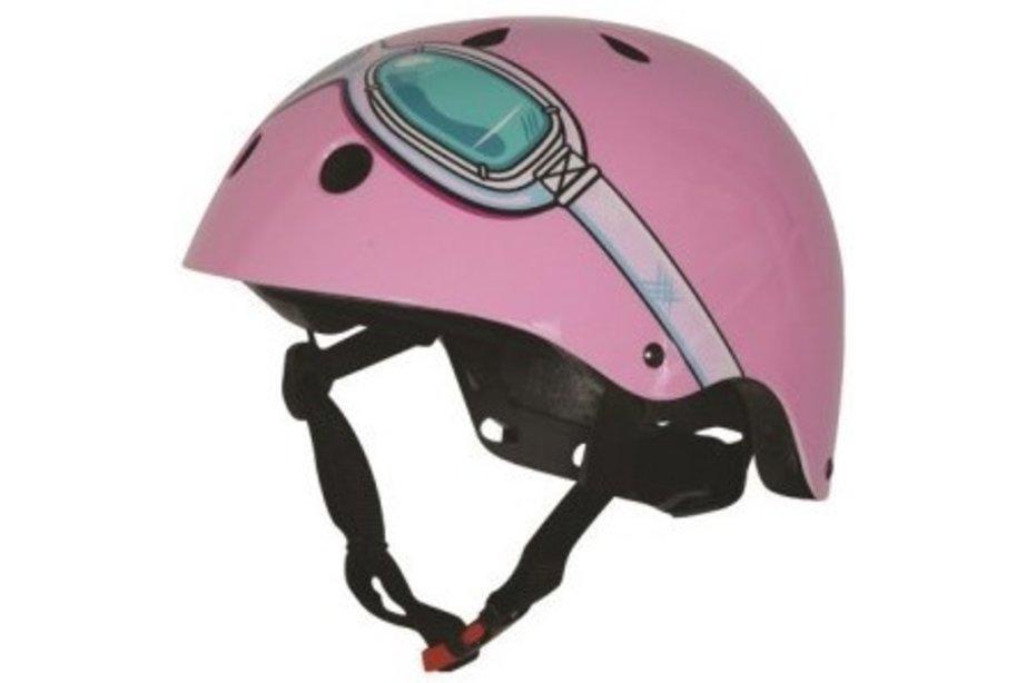 KIDDIMOTO helm Pink Goggle, XS