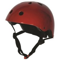 KIDDIMOTO helm Metallic Red , small