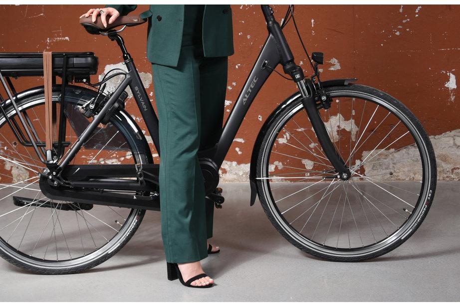 Altec Sylvain E-Bike 28 inch 53cm 7v Zwart