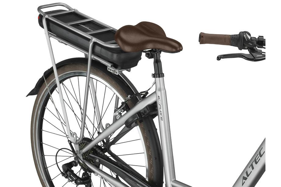 Altec Explorer E-bike Dames 7v 52cm Grey