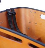 Vogue Vogue Carry 2 Bakfiets 48cm Matt Black/Brown 7V