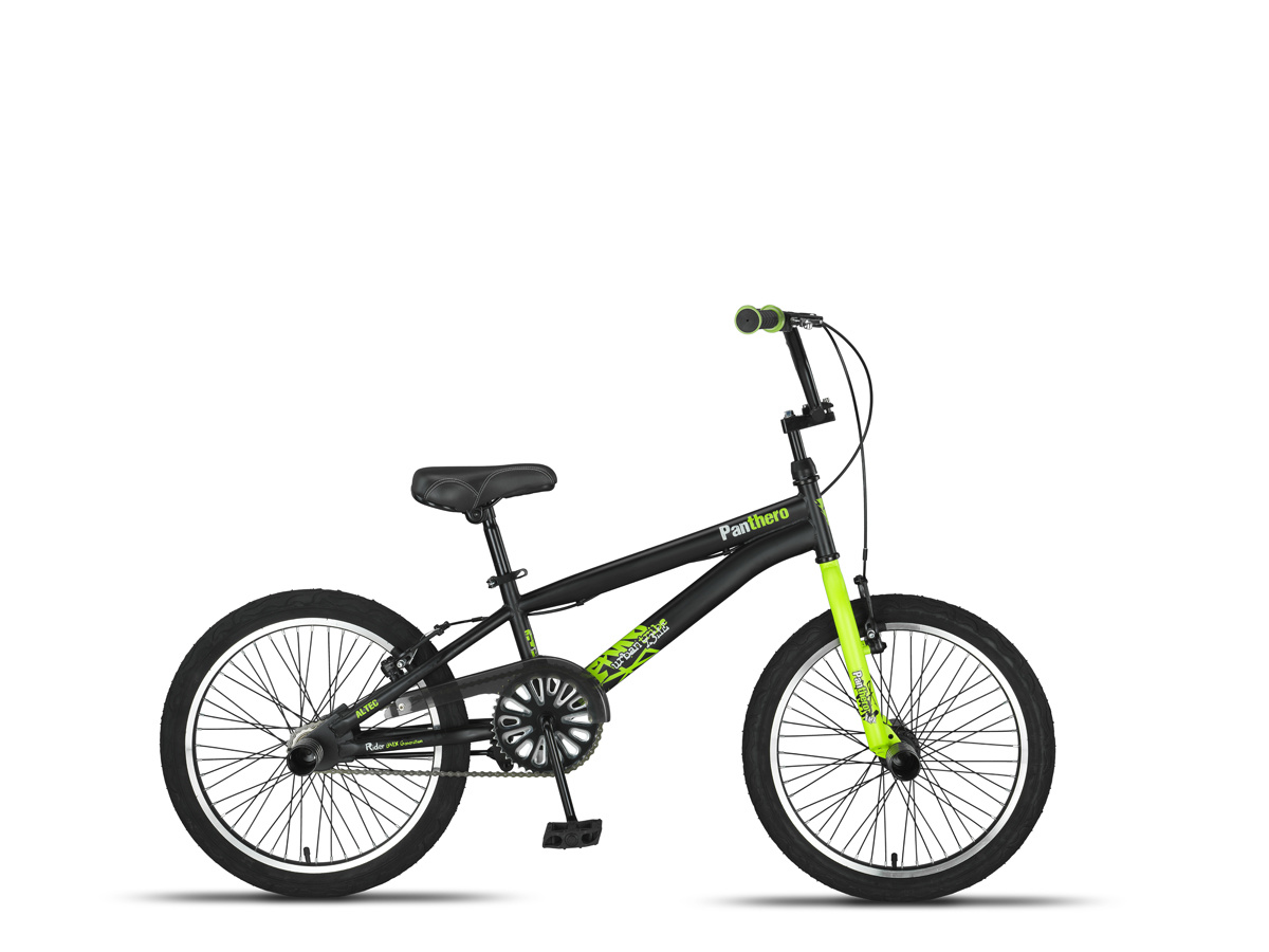 Altec Panthero BMX fiets 20 inch Black-Lime online kopen