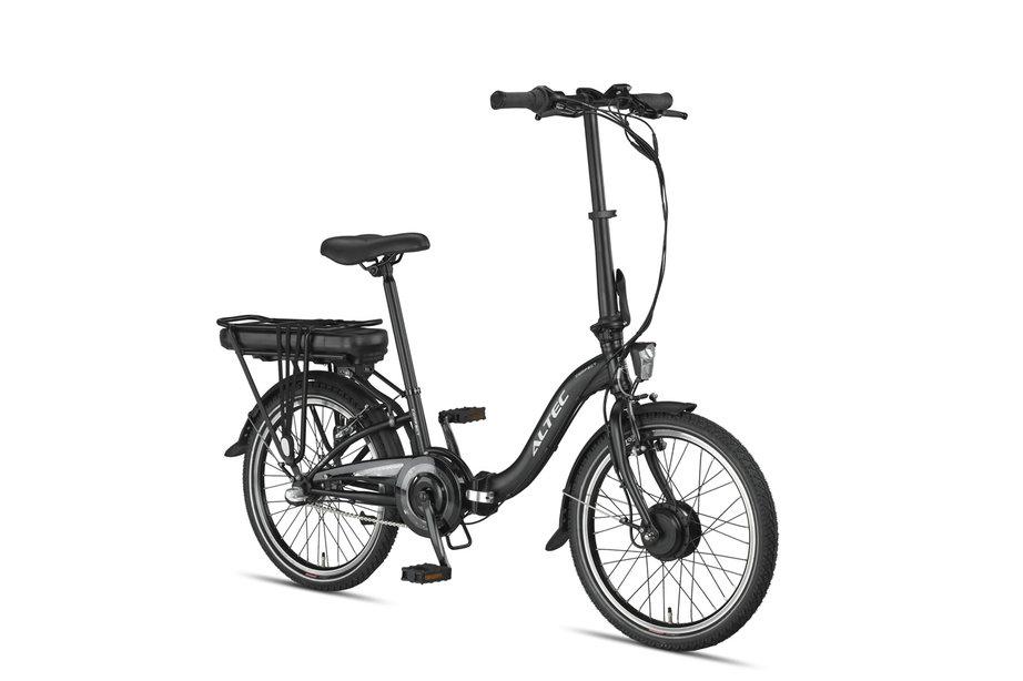 Altec Compact Vouwfiets E-Bike 3v Mat Zwart