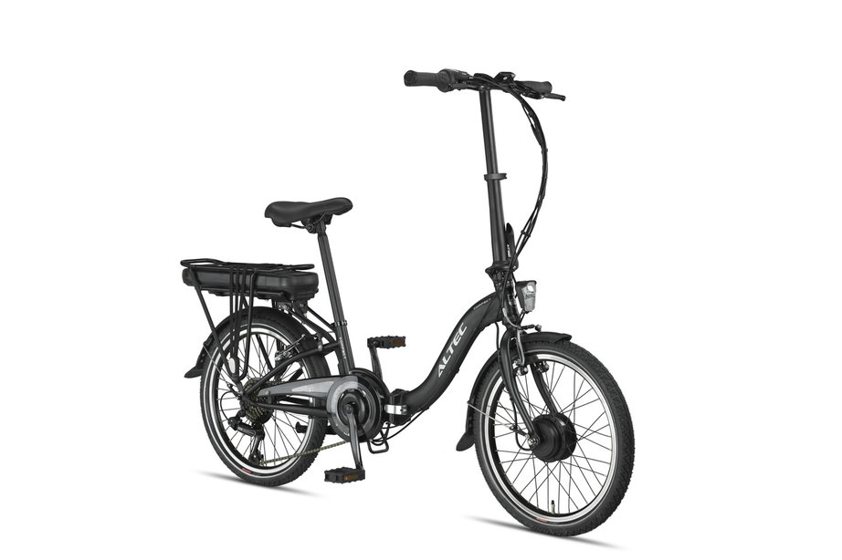 Altec Compact Vouwfiets E-Bike 6v Mat Zwart