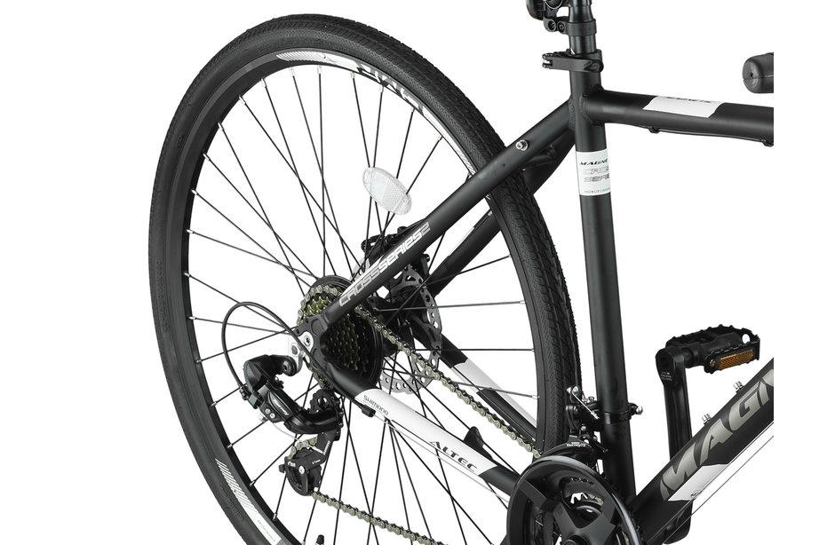 Altec Magnetic Trekking MTB Heren 28 inch Zwart Wit