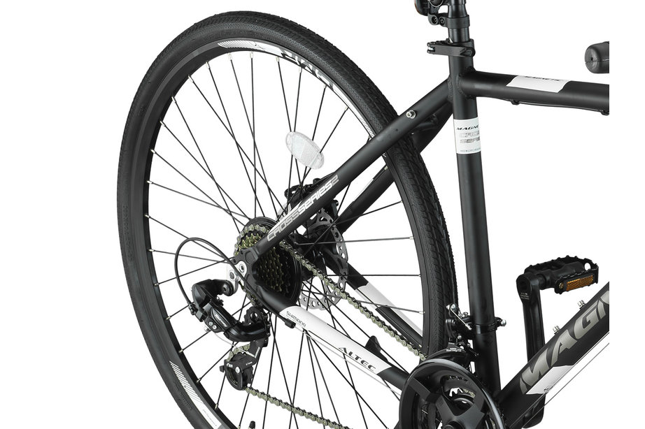 Umit Magnetic Trekking MTB Heren 28 inch Zwart Wit