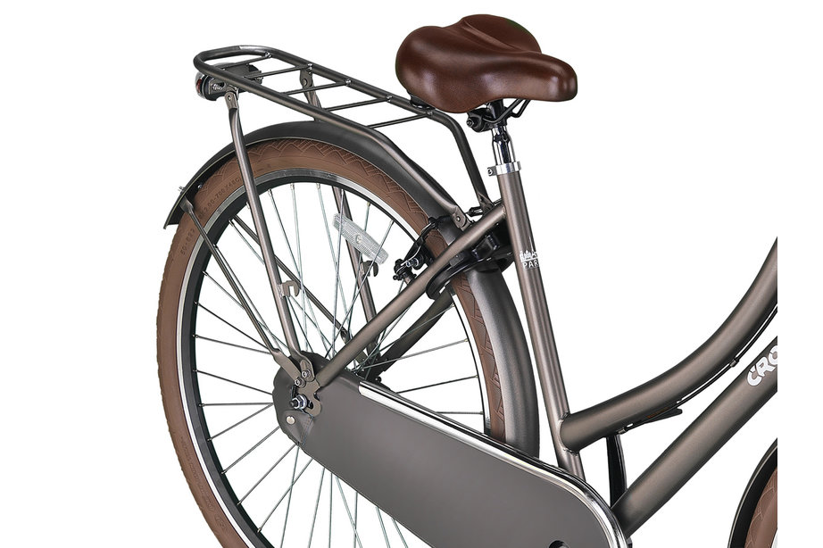 Crown Paris Transportfiets 28 inch 53cm Industrial Gray