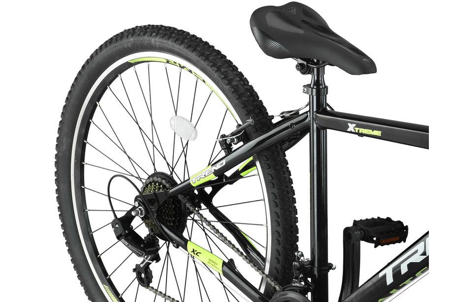 Altec Trend 27,5 inch Mountainbike 21v Zwart Lime