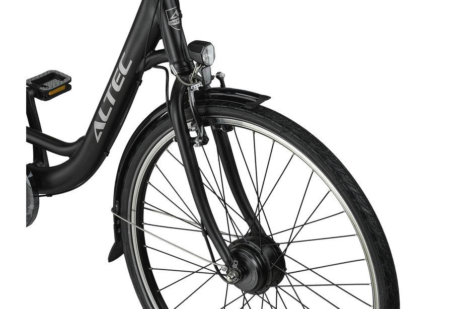 Altec Sapphire 28 inch E-Bike 7v 53cm Dames Zwart