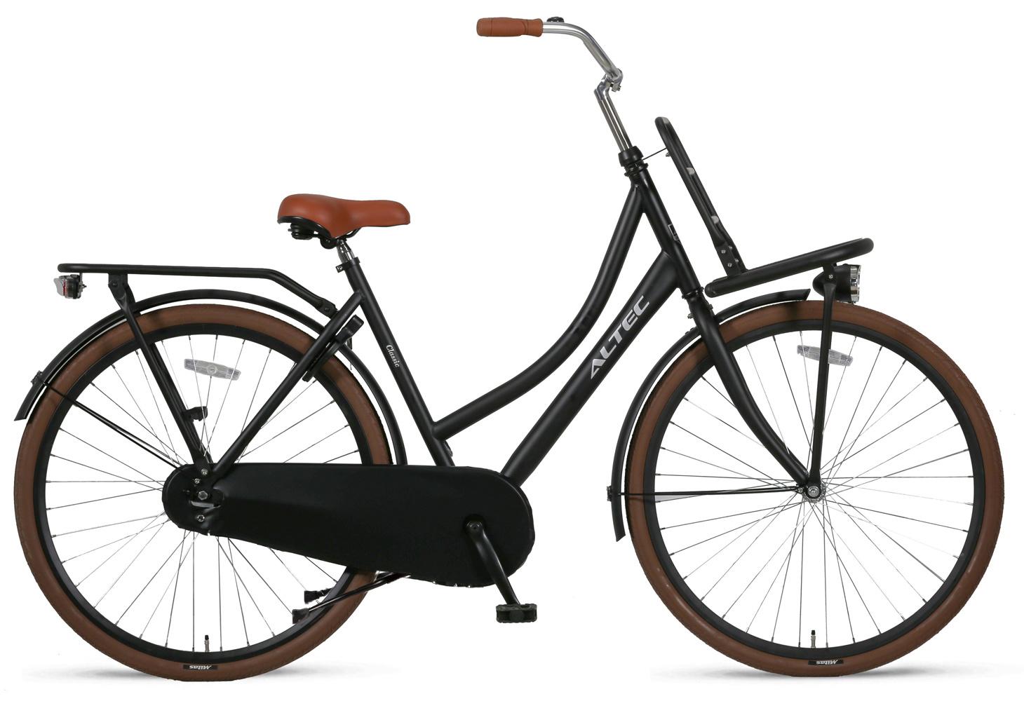Altec Classic Transportfiets 28 inch 55cm Zwart online kopen