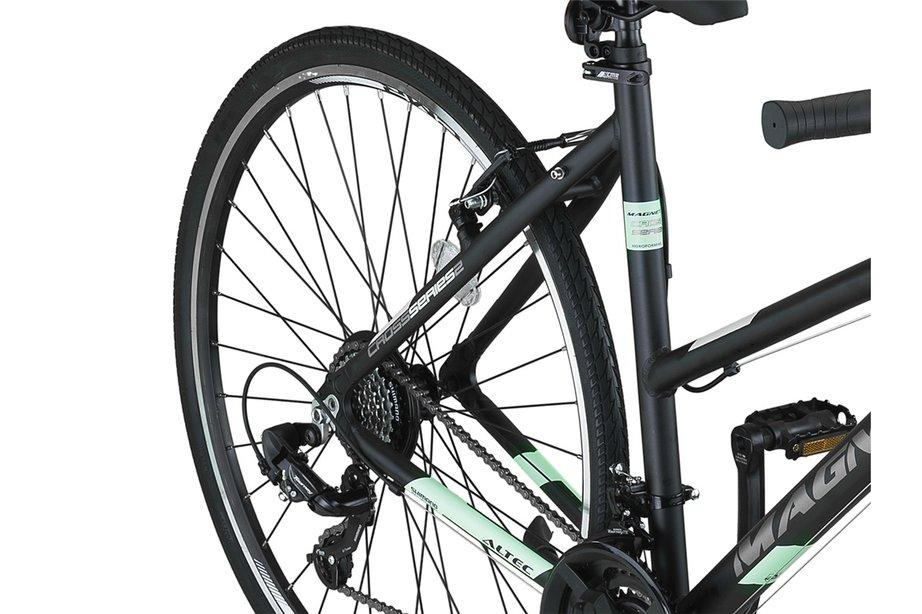 Altec Magnetic Trekking V-Brakes Dames 28inch 52cm Black/Mint