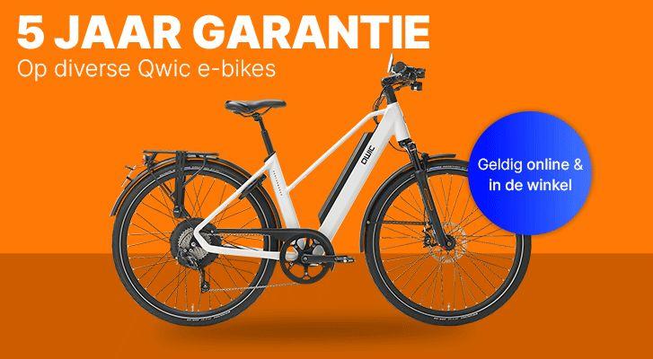 E-bike met 5 jaar garantie kopen? Online & in de winkel