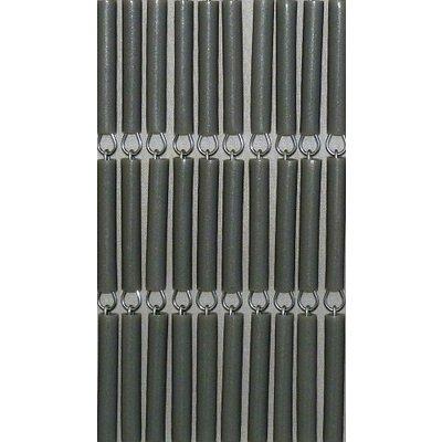 Vliegengordijn Zilver/Metallic Recht