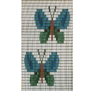 Vliegengordijnencenter.nl Vliegengordijn Gekleurde Vlinders
