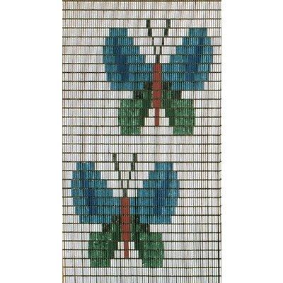 Vliegengordijn Gekleurde Vlinders