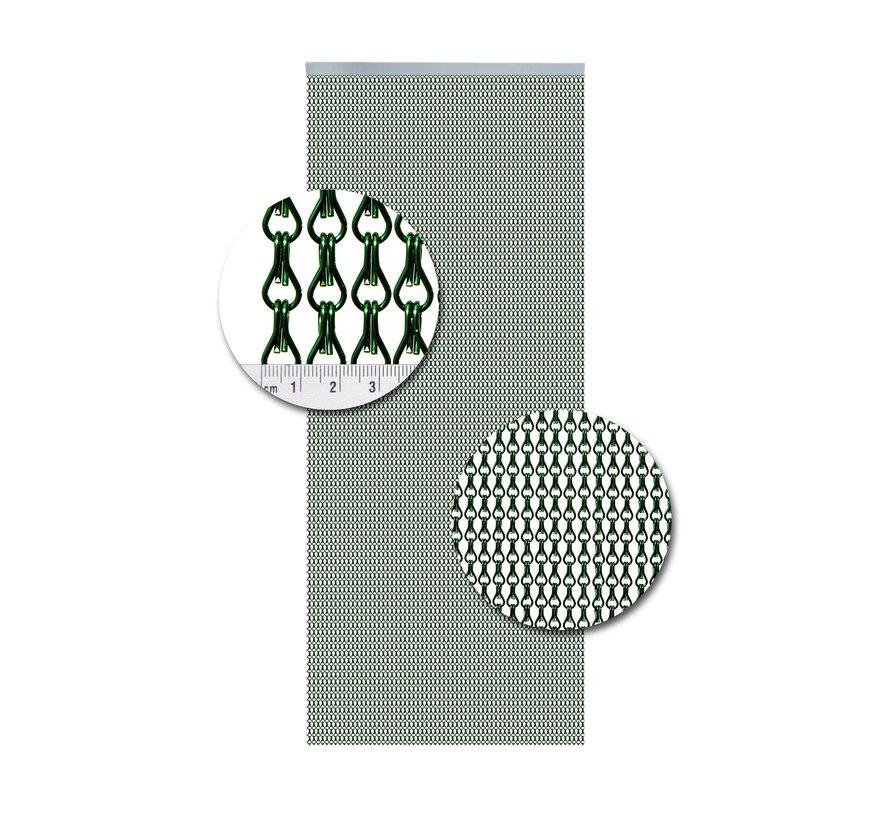 Vliegengordijn Aluminium Groen