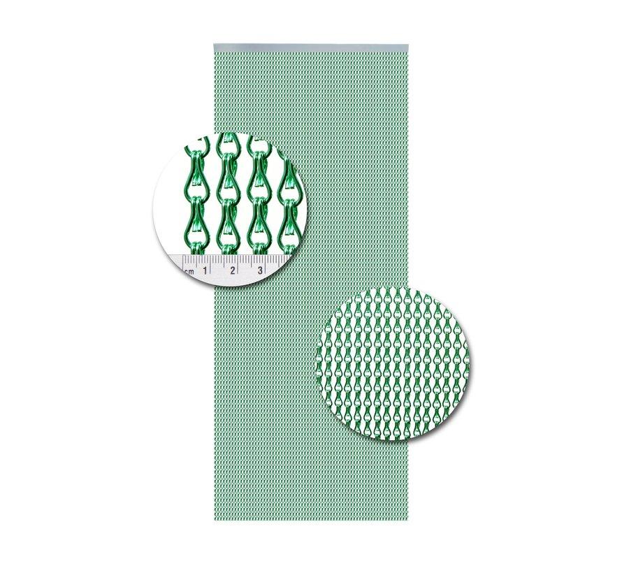 Vliegengordijn Aluminium Licht Groen