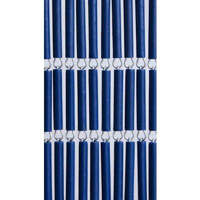 Hulzen Vliegengordijn Donker Blauw