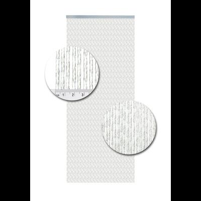 Deurgordijn PVC Milano Wit