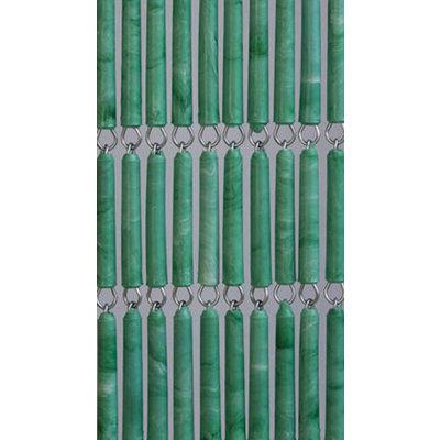 Hulzen Vliegengordijn Groen Gevlekt