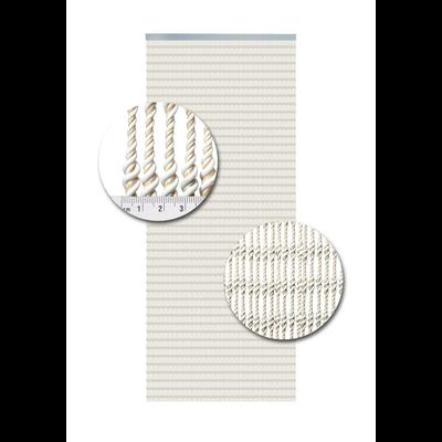 Deurgordijn PVC Pisa Wit-Zand