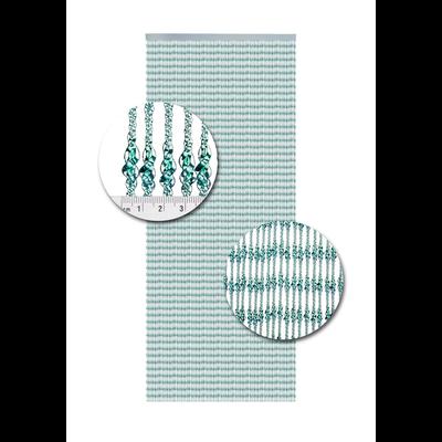 Deurgordijn PVC Pisa Zee Groen
