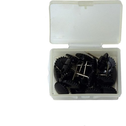 Magnetisch Deurgordijn - Zwart