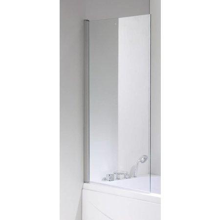 Sem Sem Costa a badwand 80x140cm chroom/helder 5mm veiligheidsglas antikalk