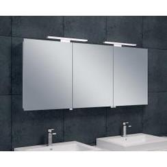 luxe spiegelkast +led verlichting 140x60x14cm