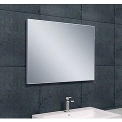 Tigris spiegel aluminium lijst 80x60x2,1