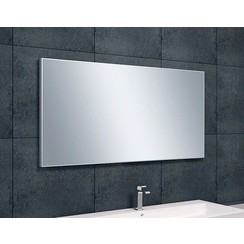 Tigris spiegel aluminium lijst 1200x600x21