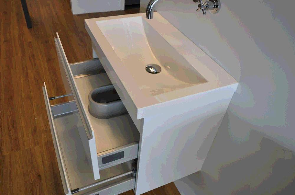 Badmeubel Zonder Wastafel : Wiesbaden onderkast cmx cm zonder wastafel wit badkamer co