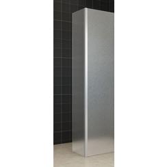 zijwand+hoekprofiel 35x200 10mm Matglas