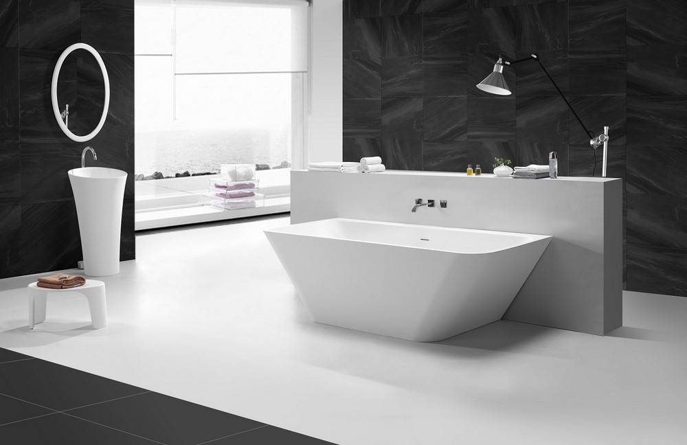 Half Vrijstaand Bad : Half vrijstaand bad van duravit darling new beautiful bathing