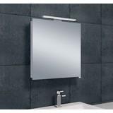 Wiesbaden luxe spiegelkast + led verlichting 60x60x14cm