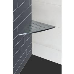RVS inwall hoekplanchet 29x29