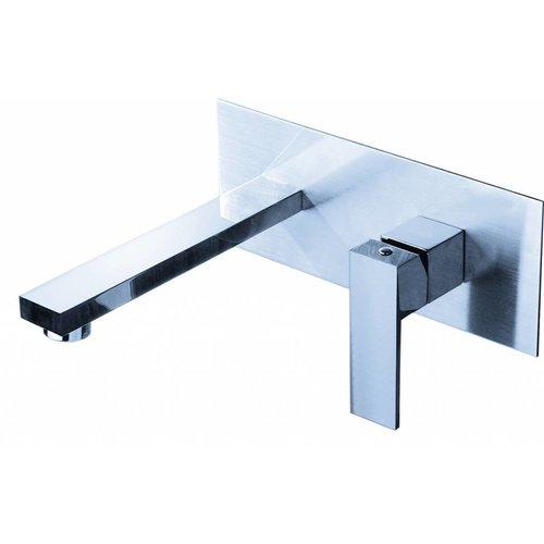 Best Design A-line inbouw-wandmengkraan