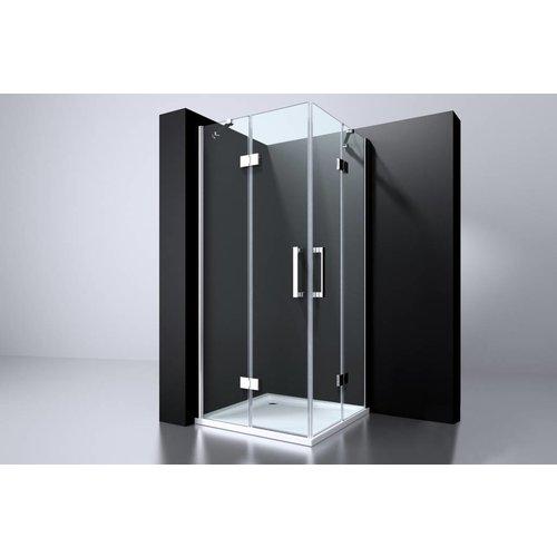 Best Design Best Design Erico q4 vierk-hoekinstap90x90x195cm nano glas 6mm