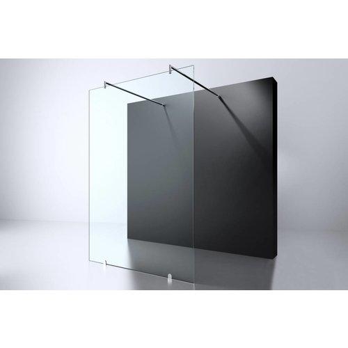 Best Design Erico vrijstaande wand 120x200cm nano glas 8mm