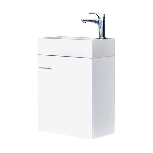 Best Design fonteinmeubel Wiko 45cm keramiek glans-wit