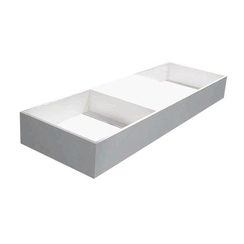 Best Design Just-Solid wastafel Dubbel-120 120x40x15cm