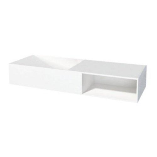 Best Design Just-Solid wastafel Gruna 120x42x20cm