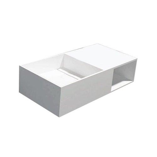 Best Design Just-Solid wastafel Qwee-80 80x40x20cm